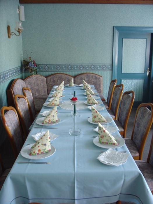 Clubraum der Gaststätte Friedensburg in Löwenstedt